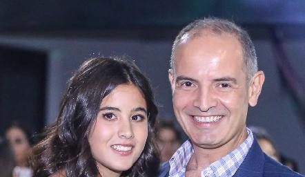María y Héctor Navarro.