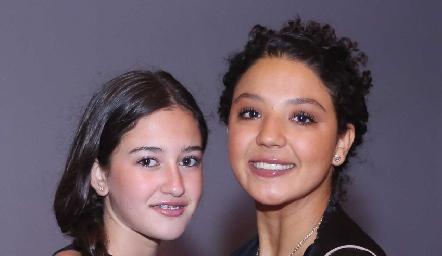 Natalia Michel y Ale Martínez.