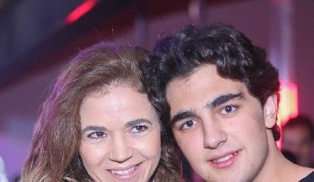 Sigrid Werge y Alejandro Cambeses.