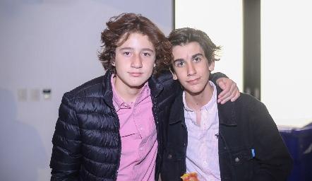 Israel López y Daniel Díaz.
