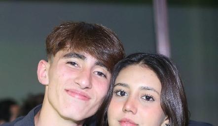 Agustín y Yamilé.