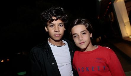 Mau Vera y Marcelo Díaz Infante.
