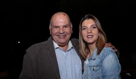 Elías Navarro y Mimí Navarro.