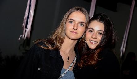 Camila Bárcena y Sigrid Zendejas.