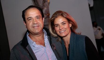 Aldo Pizzuto y Marcela Benavente.
