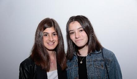 Silvana Oliva y Andrea Rendón.