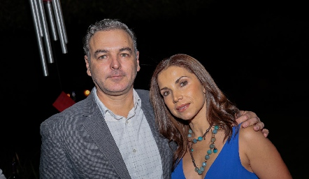 David del Bosque y Mayra Ortega.