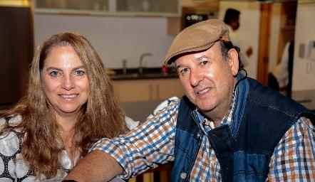 Alba Altamirano y Antonio Martin.