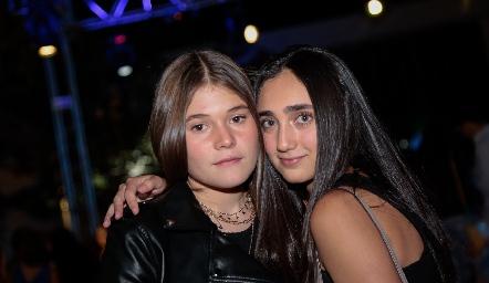 María Paula Díaz y Sofía Flores.