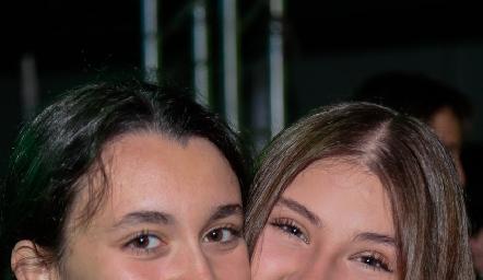 Emilia Gerardo y Anie Cuellar.