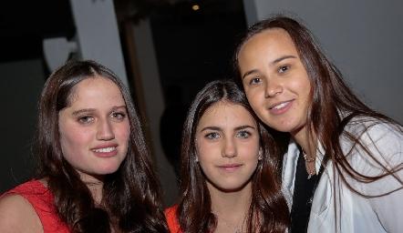 Kamila Dip, Alexa Pizzuto y Bety Allende.