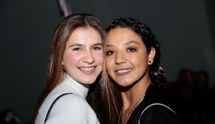 Valentina Von y Ale Martínez.