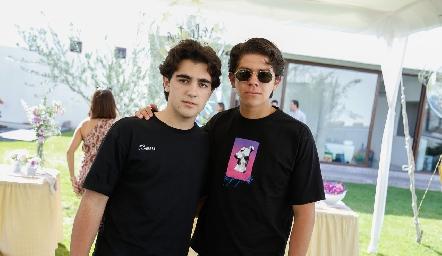 Alejandro Cambeses y Patricio Ojeda.