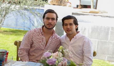 Mateo Guerra y Roberto Guevara.
