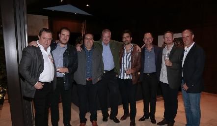 Humberto Abaroa, Luis Nava, Juan José Leos, Juan Hernández, Mario Macías, Manuel Toledo, Federico García y Gildo Gutiérrez.