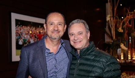 Manuel Toledo y Enrique Minondo.