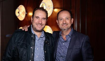 Luis Nava y Manuel Toledo.