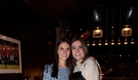 María Emilia Cohen y Andrea Herrera.