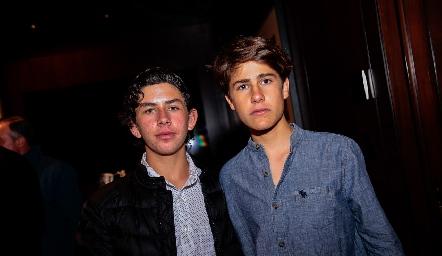 Diego Payán y Mauricio Galván.