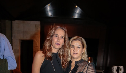 Liliana Marti y Mary Carmen Pizzuto.