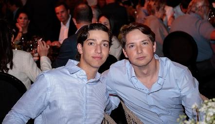 Juan Pablo Dip y Manuel Toledo.