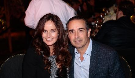 Paulina Quiroz y Alejandro Elizondo.