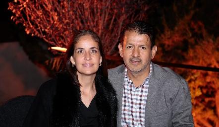 Paola Soto y Obed Gutiérrez.