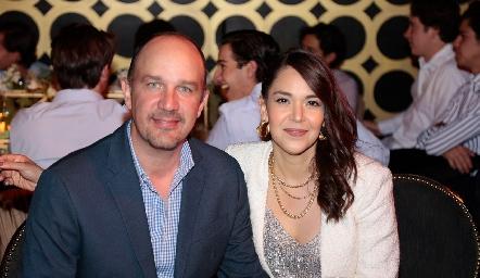 José María y Gloria Beltrán.