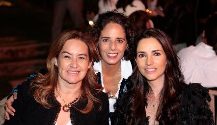 Julieta Ortuño, Natalia Ortuño y Mariana Ávila.