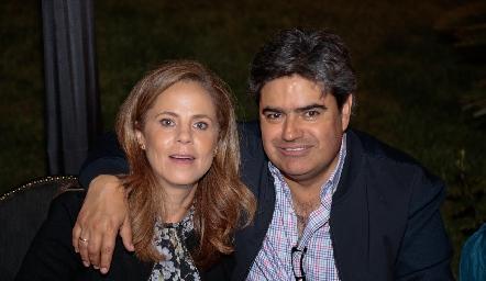 Paty Fernández y Francisco Leos.