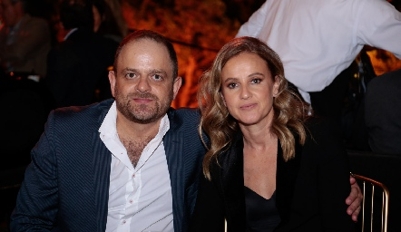 Saad Sarquis y Romina Madrazo.