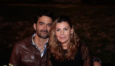 Mario Macías y Consuelo Fernández.