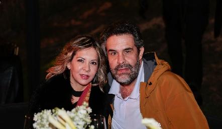 Liliana Fernández y Fernando Abaroa.
