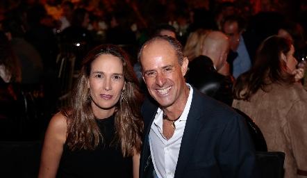 Liliana Martí y Gildo Gutiérrez.