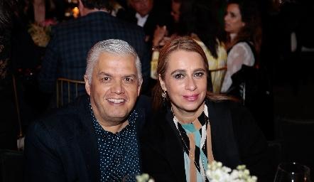Gerardo Rodríguez y Meritchell Galarza.