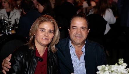 Marcela Benavente y Aldo Pizzuto.