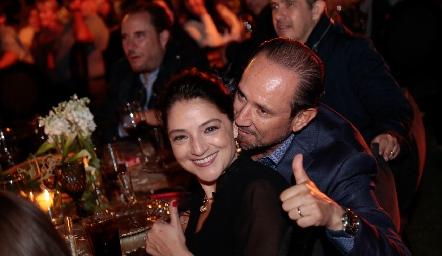 Adriana Calderón y Manuel Toledo.