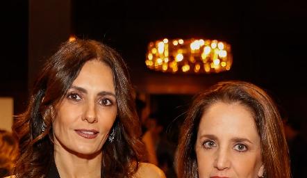 Claudia Artolózaga y Montse Fonte.