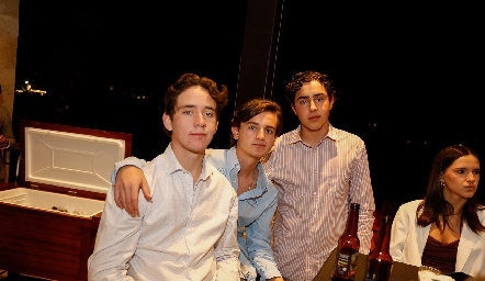 Jacobo Payán, Pato Sarquis y Pablo Morales.