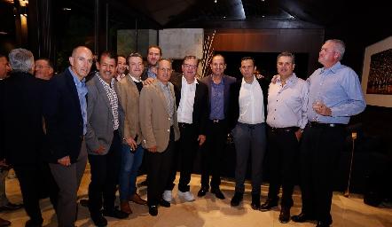 Juan Carlos Nieto, Obed Gutiérrez, Jean Franco Pizzuto, Ramón Gómez, Jacobo ]Payán, Manuel Toledo, Pepe Tanus, Salomón Dip y Juan Hernández.