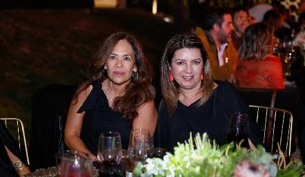 Malena Rubín e Hilda Rodríguez.
