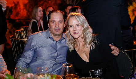Jorge Morales y Ania de Lima.