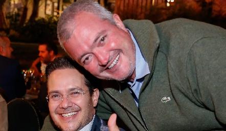 Alex Pérez y Juan Hernández.