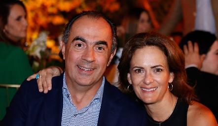 Bernardo López y Daniela Coulon.