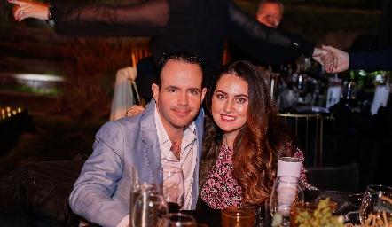 Alan Ávila y Marcela Zapata.