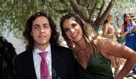 Manolo Guillén y Fernanda Hernández.