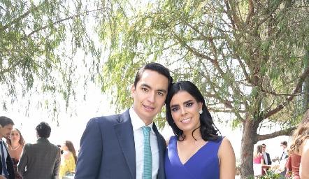 Emilio Payan y Marily Tobías.
