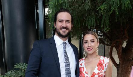 Rodrigo Valle y Ana Gaby Ibarra.