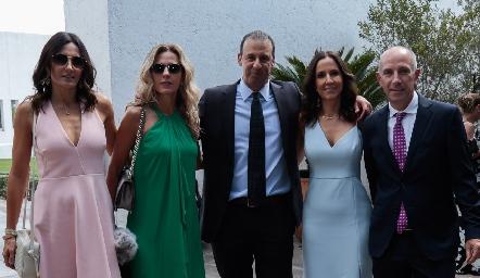 Claudia Artolózaga, Verónica berrón, Rodolfo Oliva, Ana Isabel Pérez y Juan Carlos Nieto.