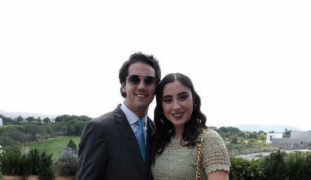 Mauricio Martínez e Isabela Zollino.